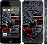 """Чехол на iPhone 5 Porsche 2 """"978c-18"""""""