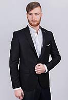 Пиджак мужской классический №AG-0002963 Черный