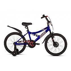 Велосипед дитячий ARDIS Brave Eagle 16 СИНІЙ + бокові колеса + крила