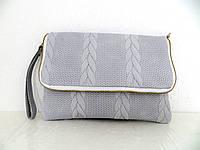 Стильная женская сумочка-клатч 100% кожа. Италия. , фото 1
