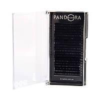 Ресницы для наращивания M-lashes (черные) Pandora отдельные длины