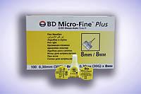 Иглы инсулиновые для шприц-ручек BD Micro Fine 8mm