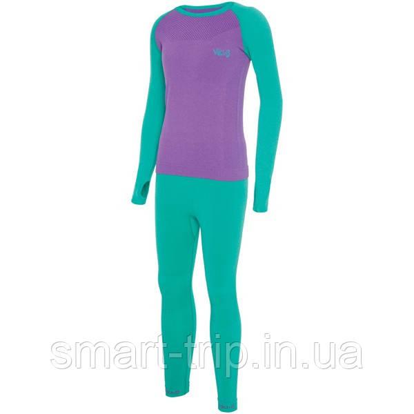 Детское термобелье VIKING Arata Set 2020 kids 104-116 purple 500201540-49