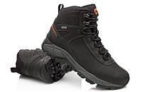 Зимові високі чоловічі черевики MERRELL VEGO, коричневий, натуральна шкіра р. 41-48, фото 1