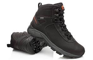 Зимние высокие мужские ботинки MERRELL VEGO, коричневый, натуральная кожа р.41-48