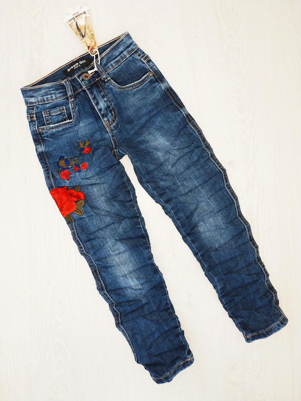 Джинсовые брюки для девочек, Венгрия, Dream Girl,  арт. 722, 122-128