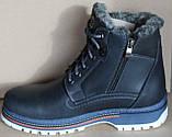 Ботинки зимние мужские кожаные от производителя ВА110, фото 2