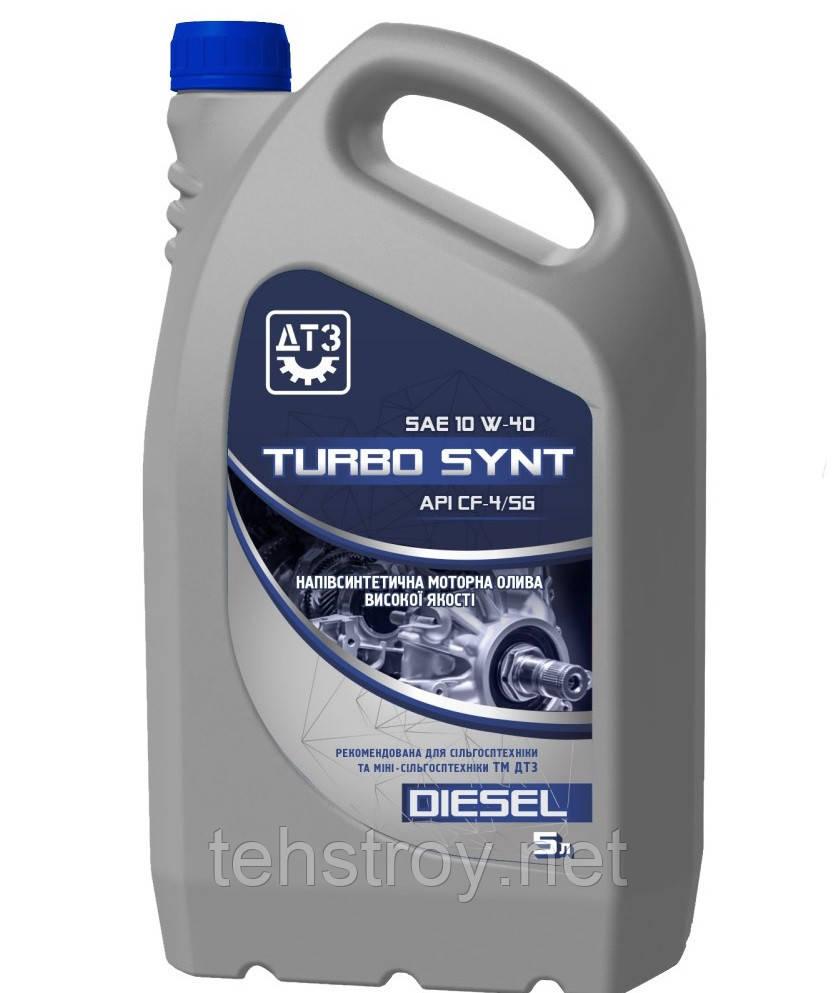 Масло моторне ДТЗ TURBO SYNT DIESEL 10W-40 API CF-4/SG 5л