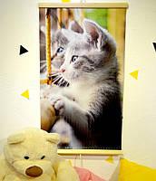 Настенный инфракрасный обогреватель-картина, Трио, Котята, 1000714-Other-7