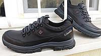 Демисезонные кожаные кроссовки Columbiia r40-45