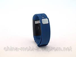 Smart Bracelet Y5 браслет-часы с измерением давления и пульса, синий, фото 3