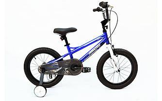 """Велосипед детский ARDIS FINDER 18"""" Синий + боковые колеса"""