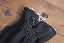 Мужские зимние стрейчевые перчатки + кролик 8192, фото 3