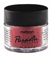 MEHRON Рассыпчатые блестки Paradise Glitter, Red (Красный), 7 г, фото 1