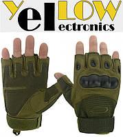 Тактические беспалые перчатки, для страйкбола Oakley ( М,L,ХL )