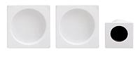Ручка для раздвижных дверей Fimet 3667С+MQматовый белый (Италия)