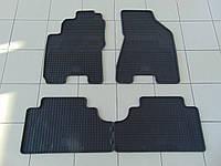 Коврики в салон резиновые для Hyundai Tucson 04-/Kia Sportage 05-, Polytep, комплект 4шт