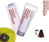 Биоламинирующий краситель Anthocyanin Second Edition W01, солнечный коричневый