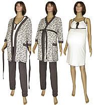 Комплект теплый 4 предмета для беременных и кормящих 18306 03278-2 MindViol Soft молочно-коричневый