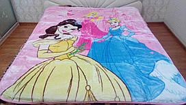 Плед акриловый 160*210 принцессы