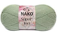 Nako Super Inci зеленый миндаль № 292
