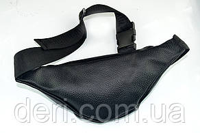 Бананка, поясничная сумка, кожаная, фото 2