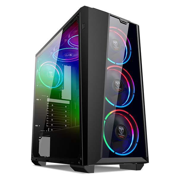 """Корпус Frontier Raider RA08A Middletower Black, без БП, ATX, 3.5mm х 2, USB2.0 x 2, USB3.0 x 1, 3.5"""" x 2, 0.5m"""