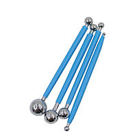 Моделирующие палочки для раскатки лепестков (4шт)