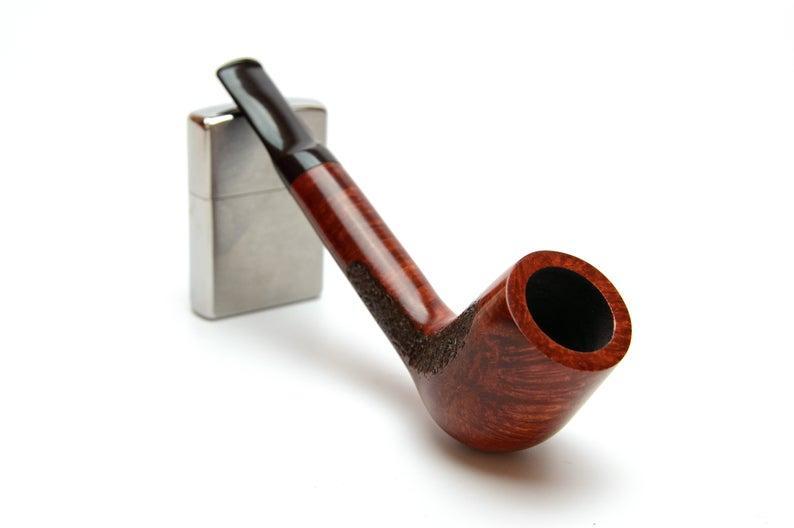 Трубка для курения Canadian прямоток ручной работы