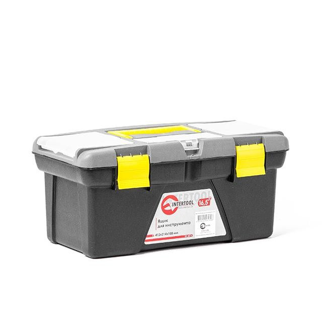 """Ящик для инструмента 16.5"""" 412*214*188мм INTERTOOL BX-0316"""