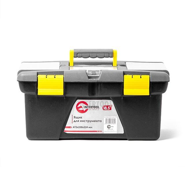 """Ящик для инструмента 18.5"""" 472*250*224мм INTERTOOL BX-0318"""