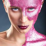MEHRON Рассыпчатые блестки Paradise Glitter, Pastel Pink (Пастельный розовый), 7 г, фото 2