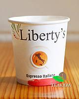 Стакан бумажный Liberty's Super Crema, 110 мл