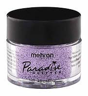 MEHRON Рассыпчатые блестки Paradise Glitter, Pastel Lavender (Пастельный лавандовый), 7 г, фото 1
