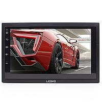 ➜Автомагнитола Lesko 7003А 2DIN 7-ми дюймовый экран с Android 8.1 функция навигатора GPS Bluetooth Wi Fi