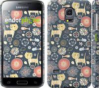 """Чехол на Samsung Galaxy S5 mini G800H Котята v4 """"1224c-44"""""""