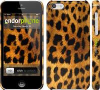 """Чехол на iPhone 5c Шкура леопарда """"238c-23"""""""
