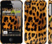 """Чехол на iPhone 4 Шкура леопарда """"238c-15"""""""
