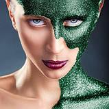 MEHRON Рассыпчатые блестки Paradise Glitter, Green (Зеленый), 7 г, фото 2