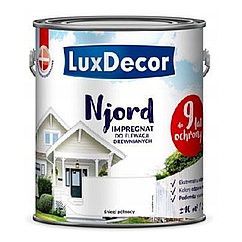 Пропитка для дерева Luxdecor Njord 2.5л (Снег Полуночи)