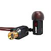 Наушники проводные KZ ED9 с микрофоном, черные, фото 3