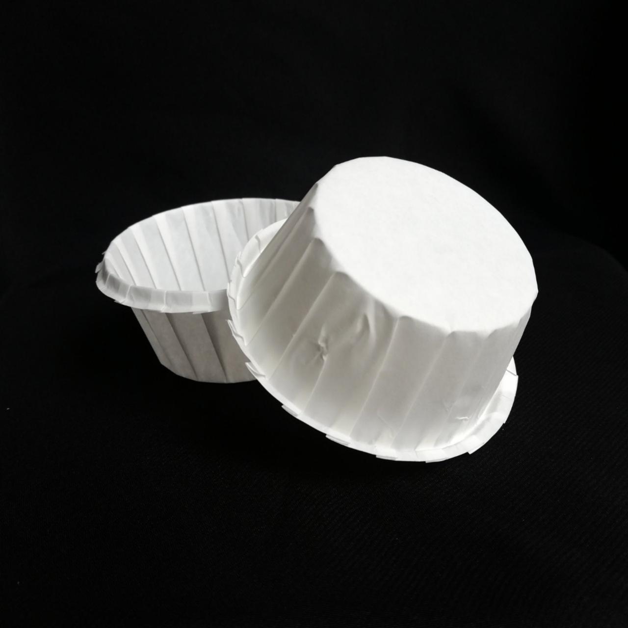 Тарталетки паперові білі (30шт/уп)