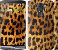 "Чехол на LG G3 dual D856 Шкура леопарда ""238c-56"""
