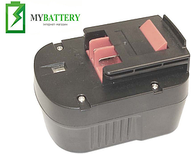 Аккумулятор для шуруповерта Black&Decker A1712 1500 mAh 14.4 V черный