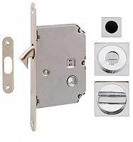 Ручка для раздвижных дверей Fimet 3667R+LOCK+MQ хром (Италия)