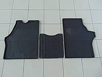Коврики в салон резиновые для Mercedes Vito 1 95-, Polytep, комплект 3шт