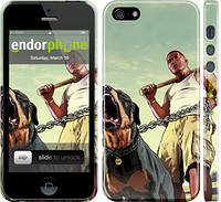 "Чехол на iPhone 5 GTA. Rottweiler ""847c-18"""