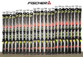 Лыжи FISCHER RC4 THE CURV RACE 157 Black-Red