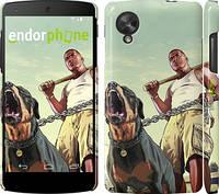 "Чехол на LG Nexus 5 GTA. Rottweiler ""847c-57"""