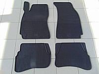 Коврики в салон резиновые для Volkswagen B5 97-, Polytep, комплект 4шт